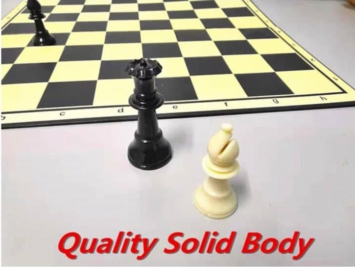 Professional Tournament Chess Set Quality Solid Body