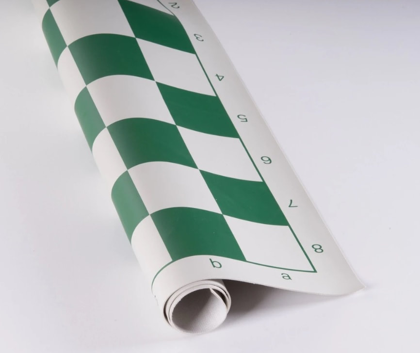 Vinyl Chess Board Roll up